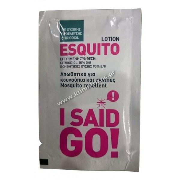 Εντομοαπωθητικό 'Esquito' μαντηλάκια, 100τεμ.