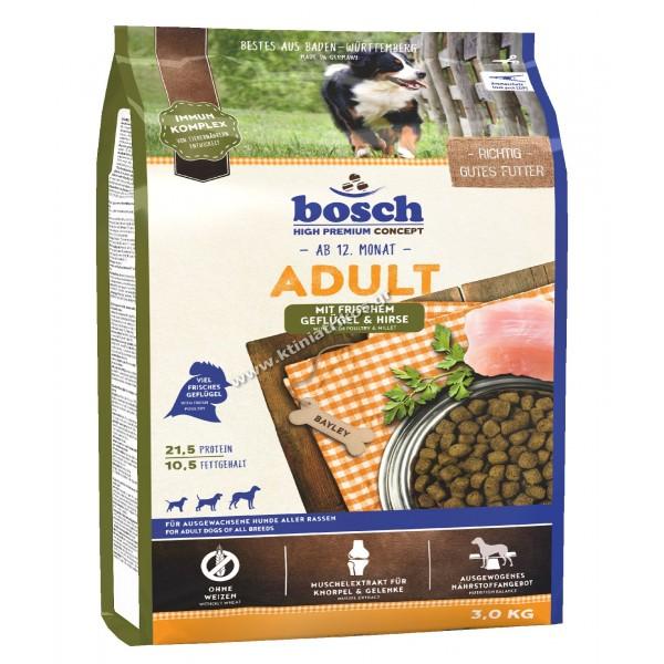 bosch 'Adult Fresh Poultry & Millet', 3Kg
