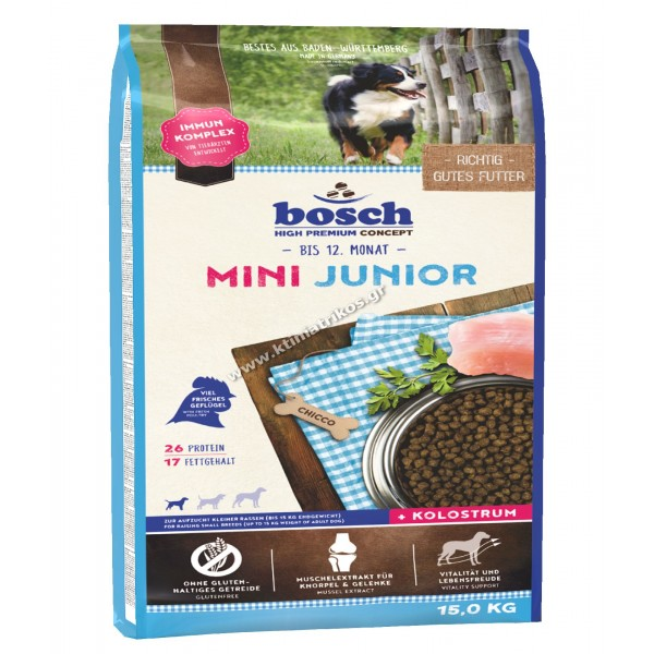 bosch 'Mini Junior', 15Kg