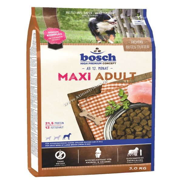bosch Maxi Adult, 3Kg