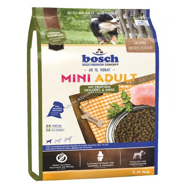 bosch 'Mini Adult Poultry & Millet', 3Kg