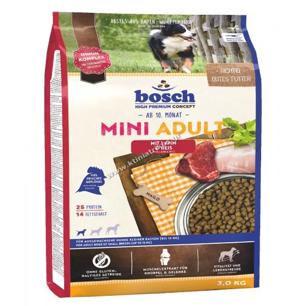 bosch 'Adult Mini Lamb & Rice', 3Kg