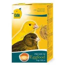 Αυγοτροφή CeDe, για καναρίνια, κίτρινη, 1Kg
