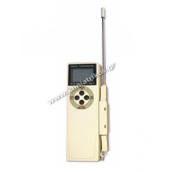 Θερμόμετρο ψηφιακό ακίδος 'Min / Max' με alarm