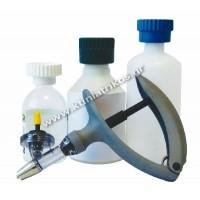 Σύριγγα 'Eco-Matic', Luer Lock, αυτόματη, με σετ υποδοχέων φιάλης, 2ml