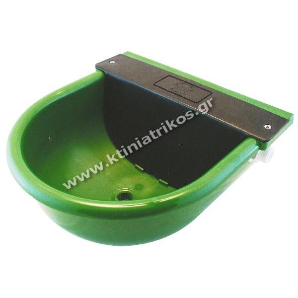 Ποτίστρα ζώων με φλοτέρ, πολυαμιδίου, με πλαστικό μαστό, 3.5Lt
