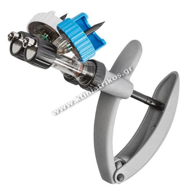 Σύριγγα 'Twin Eco-matic', 2.0ml / 2.0ml Luer Lock, πλήρης