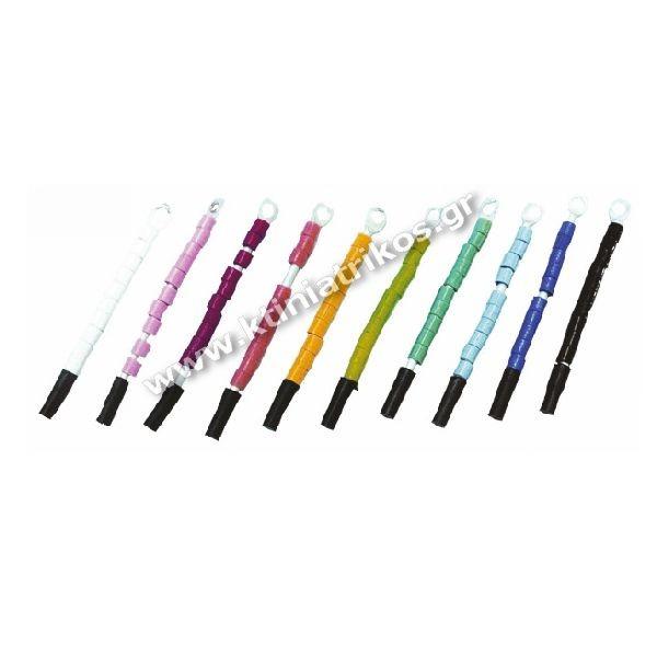 Δακτυλίδια σήμανσης πλαστικά, για καναρίνια, Ø3mm, 10τεμ.