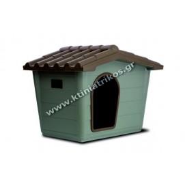 Σπίτι σκύλου πλαστικό, Large